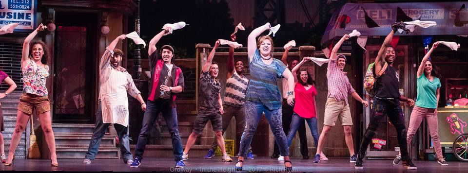 """""""In the Heights""""-September, 2017 A collaboration with The Ordway Center for Performing Arts"""
